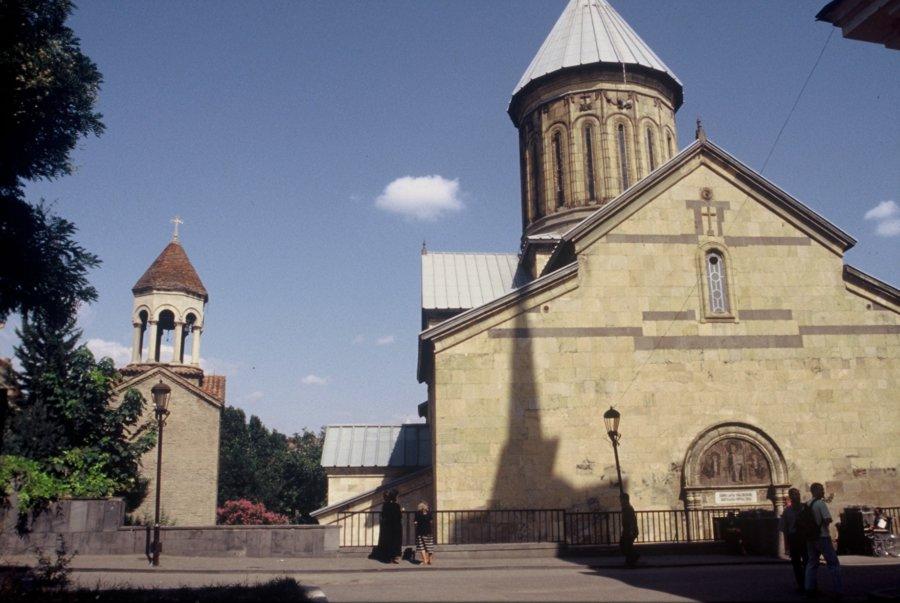 Katedra Sioni w Tbilisi, Wyprawa do Gruzji 2001, foto: Kamila Klamut