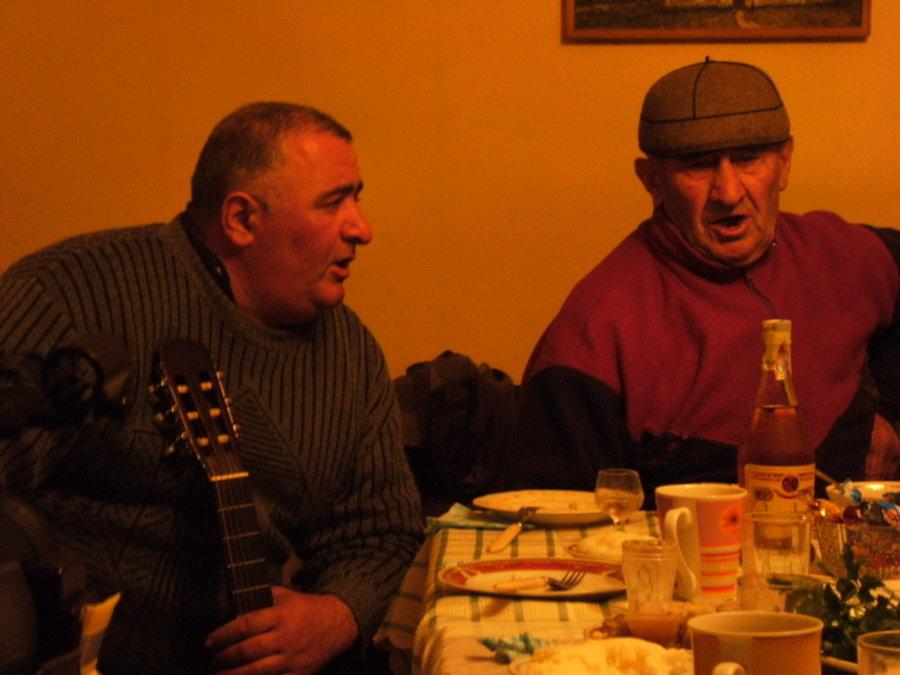 Wachtang i Islam Pilpani, zimowa wyprawa do Gruzji 2007/2008, foto: Przemysław Błaszczak