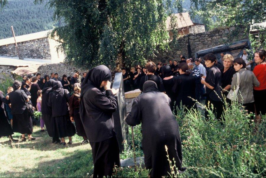 Pogrzeb w Mestii phot./fot. Kamila Klamut