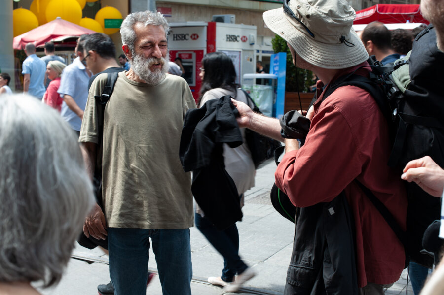 Aram Kerovpyan, Istanbul 2008, phot. Magdalena Mądra