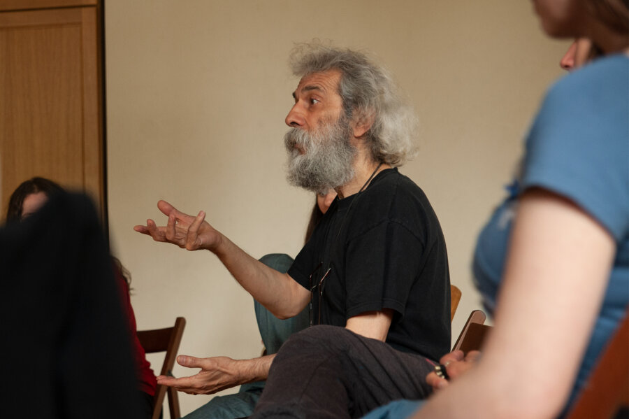 Aram Kerovpyan, Modal Singing Studio. Wroclaw 2010, phot. Magdalena Mądra