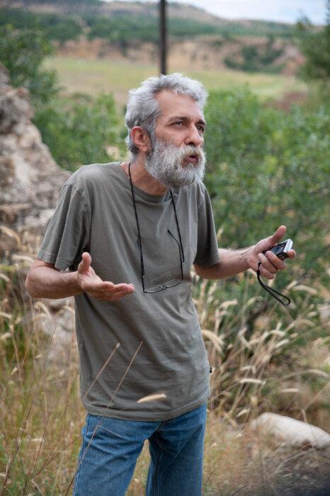 Aram Kerovpyan, expedition Turkey 2008, phot. Magdalena Mądra
