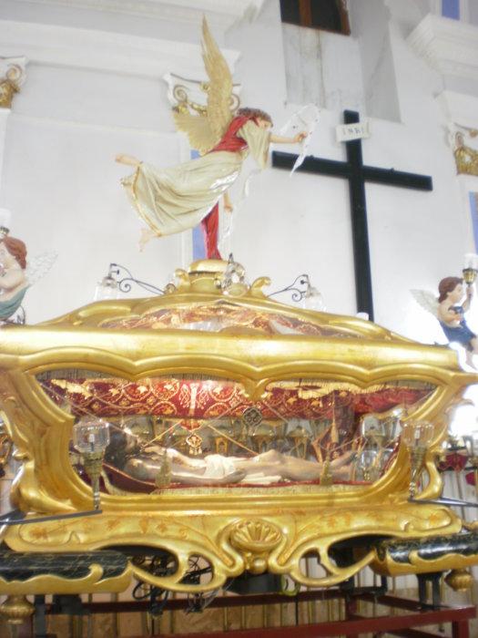Christ urn from XIX Century. Mussomeli