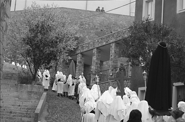 Cuncordu de Cuglieri, Holy Saturday's procession. Archive