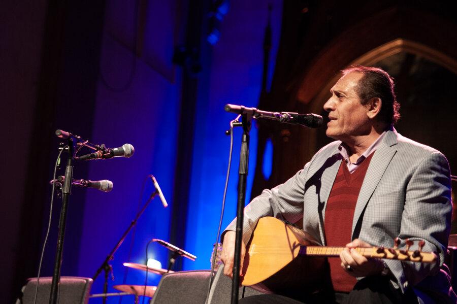 Dengbej Kazo, concert Oslo, 2015, phot. Magdalena Mądra