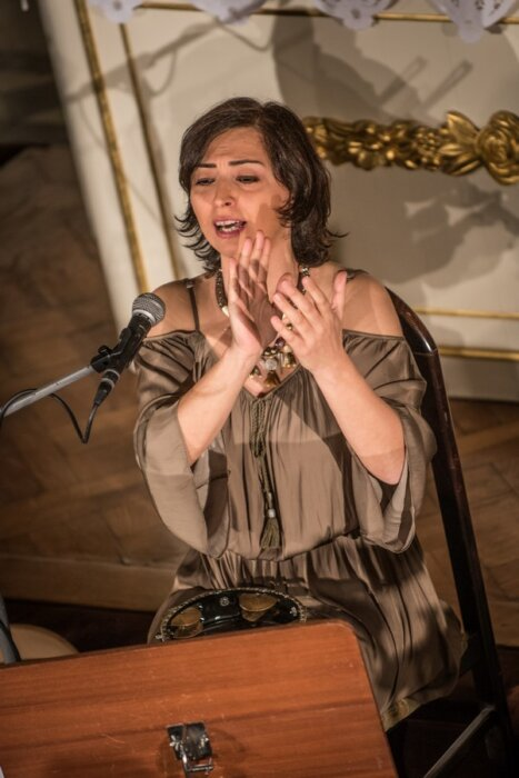Selda Öztürk, Concert Voices from the Homeland, VoicEncounters, Grotowski Institute, phot. Maciej Zakrzewski