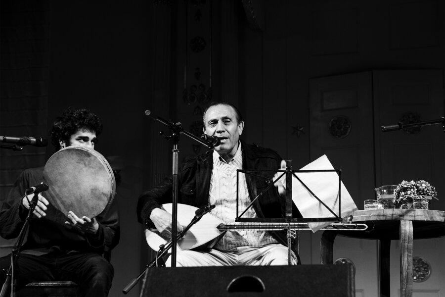 Dengbej Kazo, concert 2013, The White Stork Synagogue, phot. Magdalena Mądra